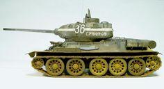 tank models | the TANK T-34/85 SOVIET RED ARMY TANK