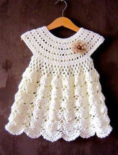 Crochet Baby Dress Crochet Bab