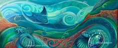 New Zealand Seabed by Reina Cottier.