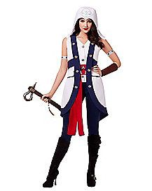 Assassins Creed Connor Adult Womens Costume