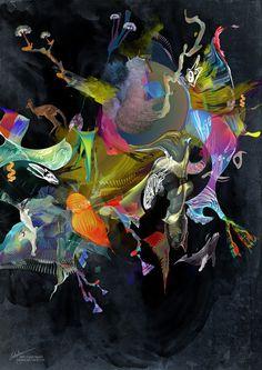 Binary Regeneration by visual artist Archan Nair
