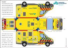 Paper Fire Engine Model   YorLogo® is een onderdeel van Cees Oosterom Design en Communicatie ...