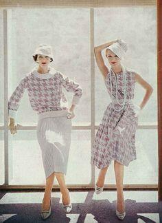 Vogue, January 1957. Photo by Richard Rutledge.