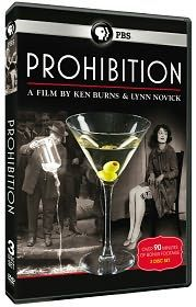Prohibition directed by Ken Burns on PBS. Prohibition was a major turning point in American history that started in the early 1920's and is called by some historians to be the worst law ever created during the time. Because of prohibition bootleggers or gangsters took to the streets dealing alcohol to speak easies which were secret bars hidden from the law that allowed those who dared to take their chances with the law to drink alcoholic beverages at these almost blind sides of authoruty.