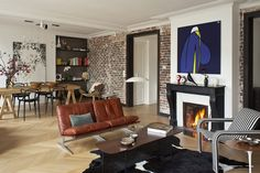 Decor: [style]: Just More French Apartments French Apartment, Paris Apartments, This Is Us, Living Room, Building, Inspiration, Design, Home Decor, Style