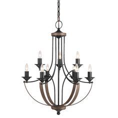 Corbeille 9-light Stardust Chandelier - Overstock™ Shopping - Great Deals on Seagull Lighting Chandeliers & Pendants