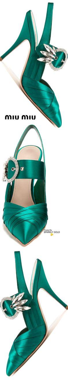 Sweets!!! Beautiful Beautiful green steps of elegance!! Love !! Miu miu! SLVH ♥♥♥♥
