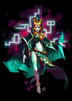 Queen Midna by deldraws