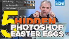 5 Hidden Easter Eggs in Photoshop that you didn't know. Secret functionality.
