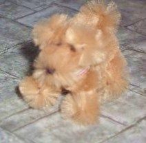 how to: dollhouse pipe cleaner dog.  Might also serve as an armature to do needle felting over?