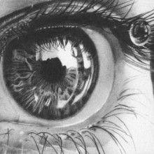 Hermosos y realista dibujos a lápiz de los ojos humanos 2