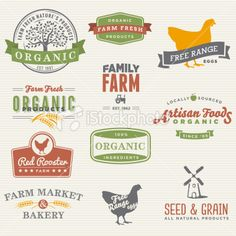 Organic Farm Labels royalty-free stock vector art farming logo ideas Set of organic farm labels. Farm Marketing, Farm Business, Farm, Labels, Vector Free, Free Vector Art, Farm Logo, Stock Illustration, Marketing