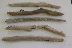 "10"" Driftwood Branches For Weaving Wall Hanging -  DIY Drift Wood Wall Art - 5 Drift Wood Dowels For Macrame and Crochet Crafts by LonelyBeach on Etsy"