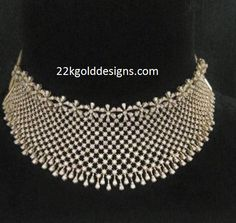 Bridal 18k Diamond Choker
