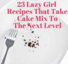 23 Ridiculously Easy Ways To Make Store-Bought Cake Mix Taste Better Yes, each of these recipes starts with a box o' cake mix. We won't tell it's not from scratch if you don't Courtesy of Buzzfeed 1. Red Velvet Scones   somethingswanky.com Start with red velvet cake mix, then add butter, extra flour, and milk. And …