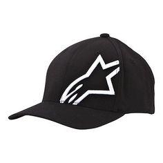 9ac11bc5a8846 Alpinestars Corp Shift 2 Flexfit Cap Hat - Black/White | Hats | Men's  Accessories