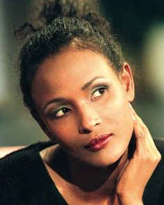 Waris Dirie, Somalian human rights activist, model. Born as a nomadic girl she ran away and fought for a better life. As she was circumsised...she is fighting against this horribel matter... so she diserves all my respect!