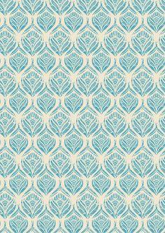 wrapping paper pattern by kiley victoria Motifs Textiles, Textile Prints, Textile Patterns, Textile Design, Fabric Design, Lino Prints, Block Prints, Pattern Paper, Pattern Art