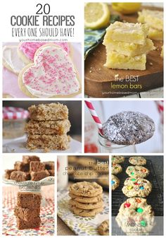 20 cookie recipes everyone should have!