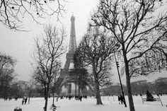 A Romantic Winter in Paris: Sip a mug of hot chocolate, enjoy ice skating on the Eiffel Tower, visit Le Carnavalet, and snuggle with your lover at Paris' fireplace bars