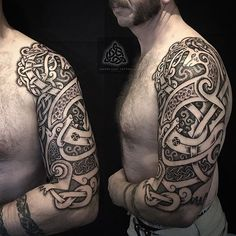 ba4a9755d 67 Best celtic nordic tattoo images in 2017 | Viking tattoos ...
