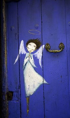 Angelic protection ~ Roquefort-les-pins, Provence