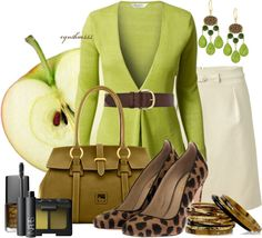 """Apple Cobbler"" by cynthia335 ❤ liked on Polyvore"