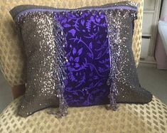 Blingtasticdesign by Blingtasticdesign on Etsy Diy Projects Arts And Crafts, Throw Pillows, Trending Outfits, Unique Jewelry, Handmade Gifts, Etsy, Vintage, Kid Craft Gifts, Toss Pillows
