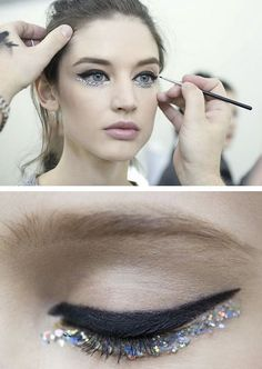Fresh modern performance makeup