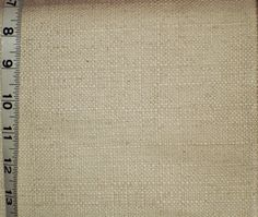 Linen cotton upholstery fabric plain from Brick House Fabric: Novelty Fabric