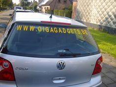 Autoreclame autostickers belettering