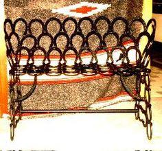 John Wayne Junior's Saddle Rack & Rocking Horse by AspenIronworks Horseshoe Projects, Horseshoe Crafts, Horseshoe Art, Horseshoe Decorations, Horseshoe Ideas, Welding Crafts, Welding Art, Welding Projects, Cowboy Crafts