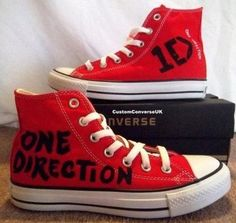 One Direction All Star Converse - love!