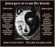 wolf sides