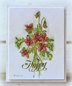 Rapport från ett skrivbord: Summer flowers