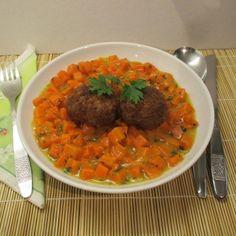 Sárgarépa főzelék - rossz híre ellenére jól elkészítve finom - Háztartás Ma Chana Masala, Curry, Beef, Ethnic Recipes, Food, Meat, Curries, Essen, Ox