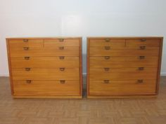 1stdibs.com | Pair Chests By Edward Wormley