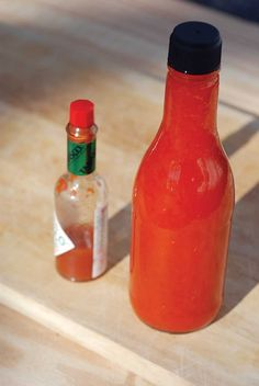 This brings back memories of the taco bell hot sauce heist. Lol Homemade hot sauce.