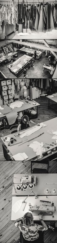 Laure de Sagazan  #workspace #fashion #atelier