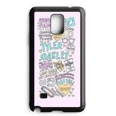 Tyler Oakley Quotes Samsung Galaxy Note Edge Case