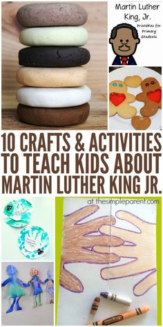 Learn more about history through these hands-on Martin Luther King Day activities you can do with the kids!