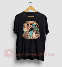 Stranger Anime Custom Design T Shirts Custom T, Custom Design, Stranger Things Shirt, Custom Made T Shirts, Movie Shirts, How To Make Tshirts, Cheap Shirts, Shirt Price, Anime