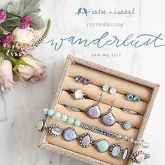 All aboard! Discover NEW #chloeandisabel jewels, inspired by a trip on a vintage train!