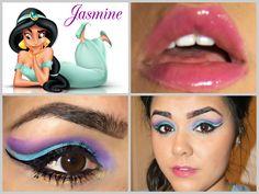 Jasmine Inspired Makeup  #disneymakeup  www.liveloveluxe.me