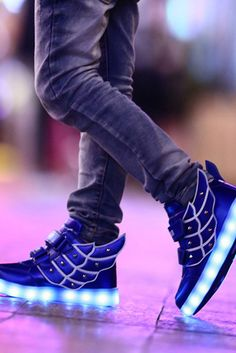 Light-up boys statement shoes with changeable LED colors. Perfect for a  child… 8377a11f833f
