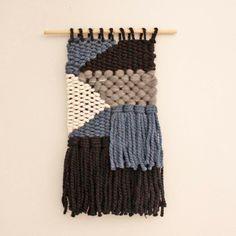 Wall Weaving, Woven Fiber Art, Weaving by EastParlor on Etsy