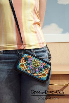 Beaded Purses, Beaded Bags, Embroidery Jewelry, Beaded Embroidery, Potli Bags, Embroidered Bag, Handmade Bags, Purses And Handbags, Bag Accessories