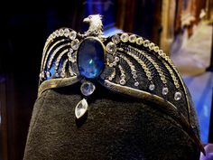 The Diadem of Rowena Ravenclaw. Photo taken in the Harry Potter studio in London, 2012.