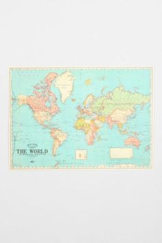 Cork board world map cork boards cork and board gumiabroncs Gallery