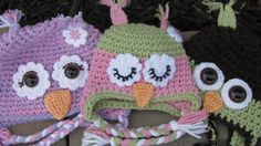 custom owl hat made to order owl hat build by EveryWhichWayCrochet, $27.00